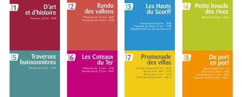 8 walks in Lorient