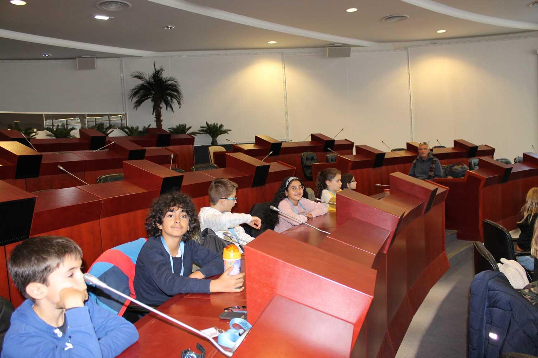 Visite au conseil régional de Bretagne