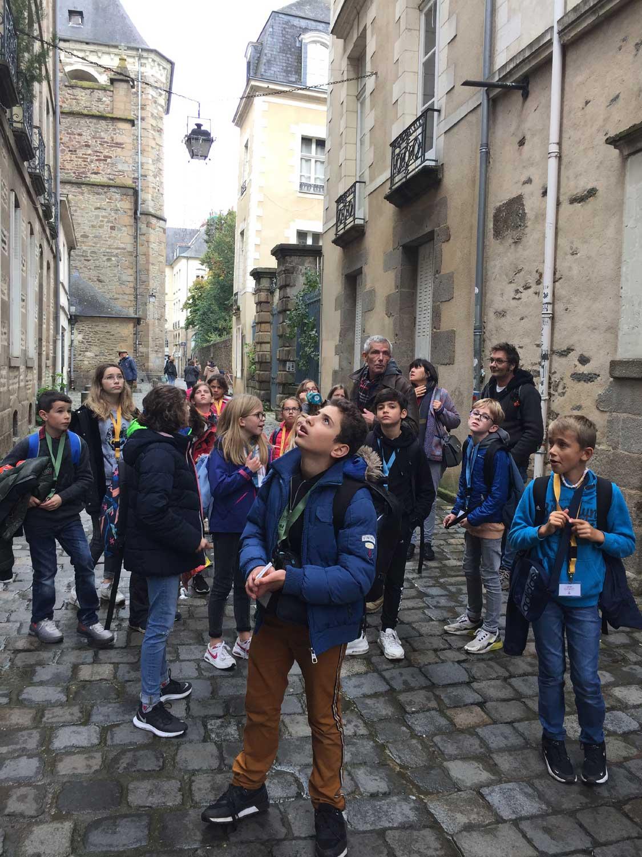 Visite du centre-ville à Rennes