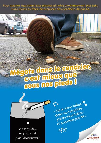 Campagne anti-mégots
