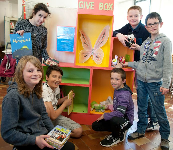 Give-box à Kervé