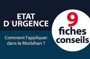 9  fiches pour mettre en application les mesures de sécurité dans le Morbihan