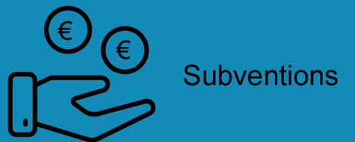 Subventions - icone ProSymbols pour Noun Project